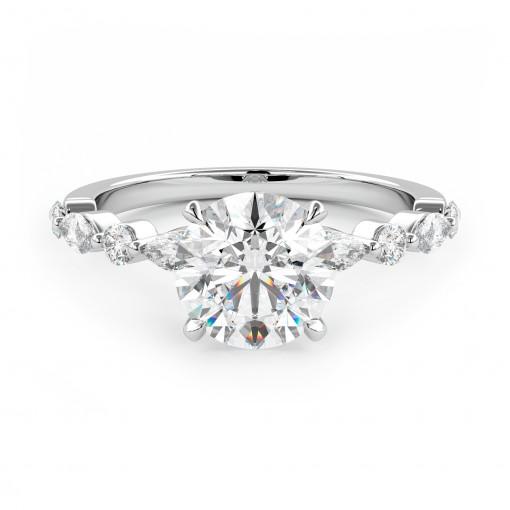 Verlobungsring 012-W0815