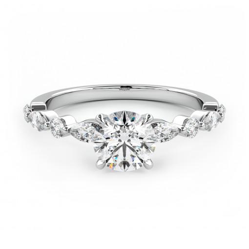 Verlobungsring 012-W18075