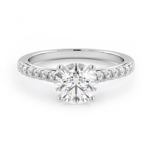 Verlobungsring 007-W181