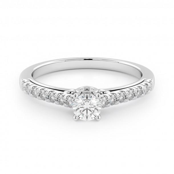 Verlobungsring 007-W0802