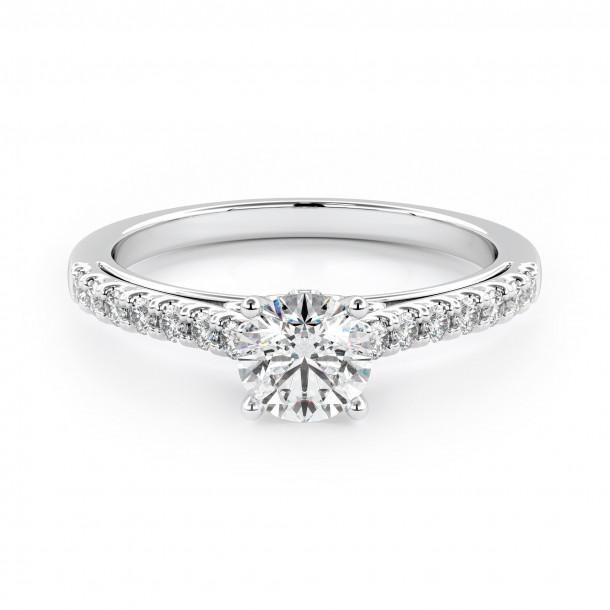 Verlobungsring 007-W1805